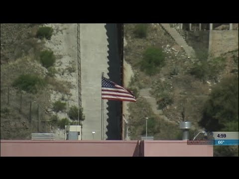 The National Guard arrives in Nogales