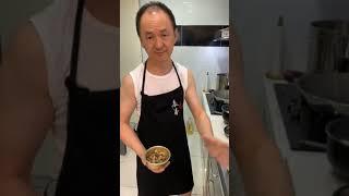 表弟好煮意 - 荷叶饭, 西芹炒鸡丝, 杏鲍菇焖豆干, Lotus Leaf Rice, Stir Fried Chicken w/ Celery, Braised mushroom w/ Tofu