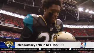 Jalen Ramsey is the Highest Ranked DB in the 2018 NFL Top 100