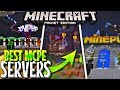 TOP 5 MCPE 1.2 Servers! - Minecraft PE 1.2+ SERVERS - BEST NEW MCPE 1.2 Minigames Servers! (2017)
