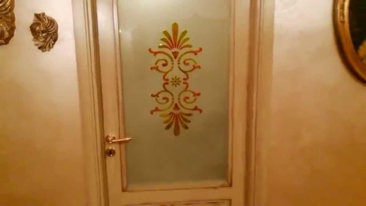 Vetro per porte inciso e decorato di Vincenzo Greco  YouTube
