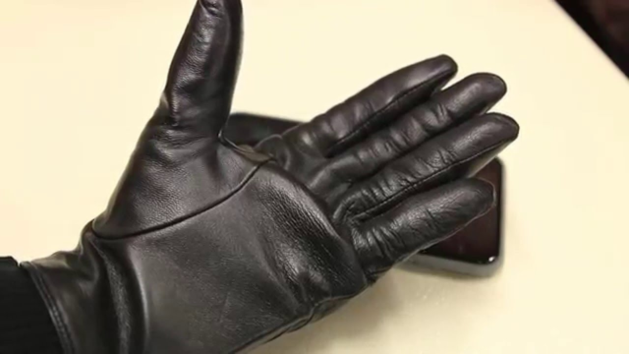 Best Leather Touch Screen Gloves For The Winter Mujjo Review You