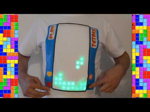 Tetris Gets Hacked Onto The Only Thing It's Not Already On: A Playable T-Shirt