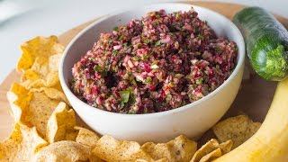 Healthy Cranberry Salsa