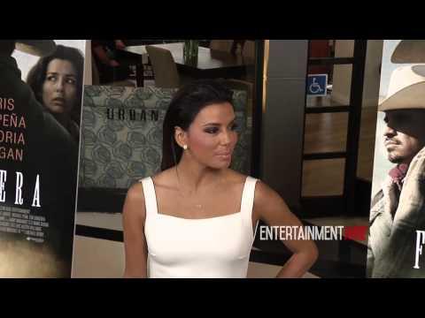 Eva Longoria, Ed Harris arrive at FRONTERA Los Angeles premiere Redcarpet