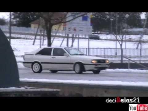 Audi Coupe Gt 2,2 20V TUBRO quattro 1986 b2 169 kw +chip