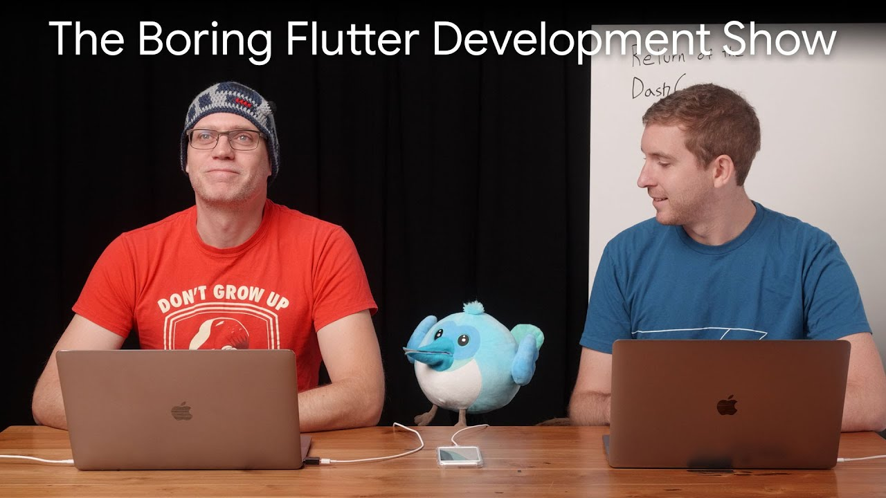 DashCast is back, again! (The Boring Flutter Development Show, Ep. 33)