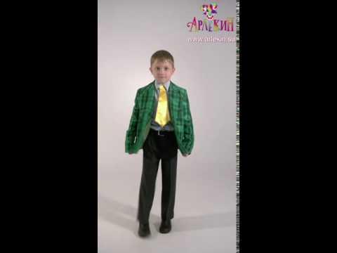 ДС154 детский костюм стиляга