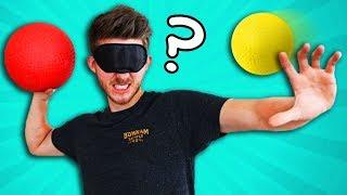 BLIND Dodgeball Challenge!!