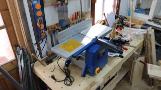 Unpacking my new jointer/planer