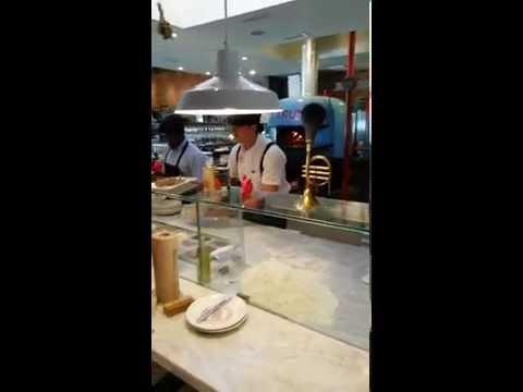 Luca Varuni Making Pizza