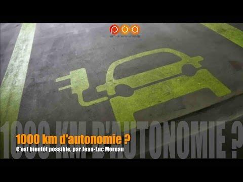 1000 km d'autonomie en voiture électrique, bientôt possible ?