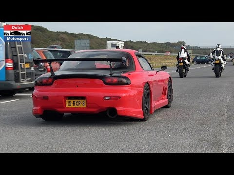 Modified Cars Arriving a Car Meet! – RX7, Supra, Huracan, Skyline, Cupra, M5, Lancer Evo,…