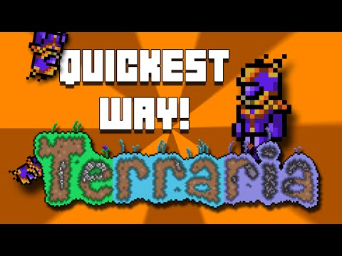 Quickest Possible Way To Get Meteorite Armour In Terraria