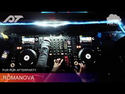 Live Video mix by DJ Romanova from Pur Pur club Moscow