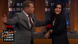Jessie Ware Chats with James at the Bar
