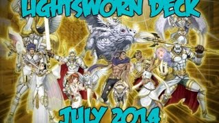 Yu-Gi-Oh Lightsworn Deck July 2014