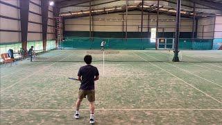 테니스 전국투어 두번째!!! -경기 여주 숲속 실내 테…