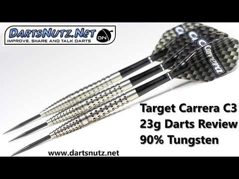 Target Carrera C3 23g darts review