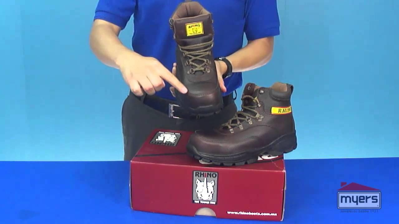 Zapatos de seguridad industrial rhino youtube - Calzados de seguridad ...