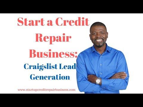 Start a Credit Repair Business: Craigslist Lead Generation
