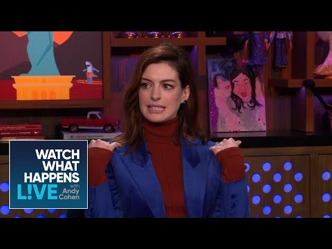 Anne Hathaway's Favorite 'Devil Wears Prada' Outfit | WWHL