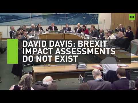 David Davis: Brexit impact assessments don't exist