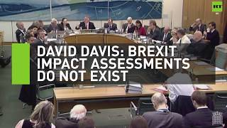 David Davis: Brexit impact assessments don