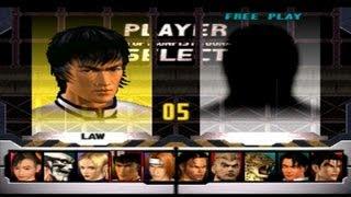 Tekken 3 - Law Playthrough (PSX)