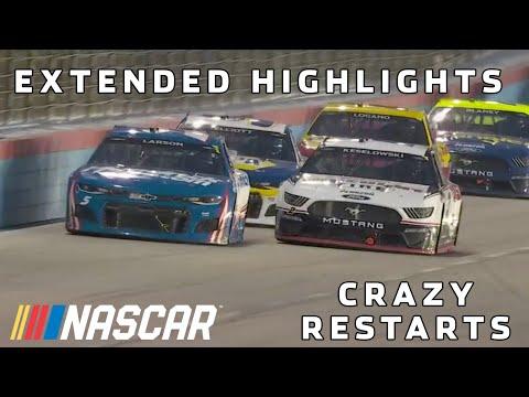 Intense restart battles, Larson is $1 million richer | NASCAR All-Star Race Extended Highlights