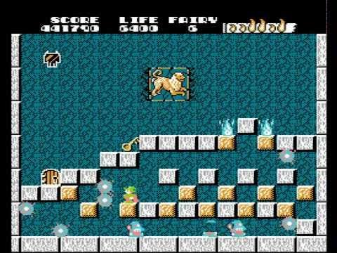 [NES] Solomon's Key (U) Full walkthrough with best ending