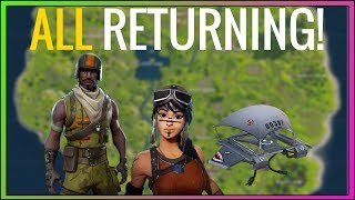 SEASON 1 SKINS RETURNING *PROOF*! (Renegade Raider, Mako Glider, Aerial Assault Trooper) Fortnite