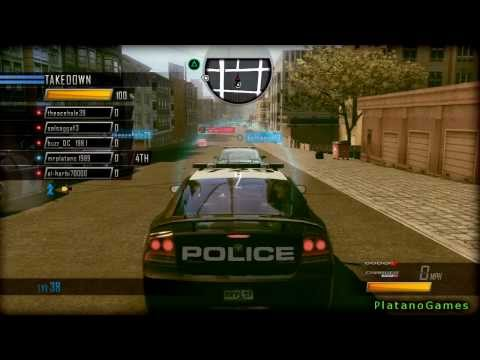 Driver: San Francisco - 5 Player Police Takedown Mode - Online Multiplayer - HD