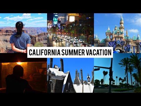 California Summer Vacation 2016