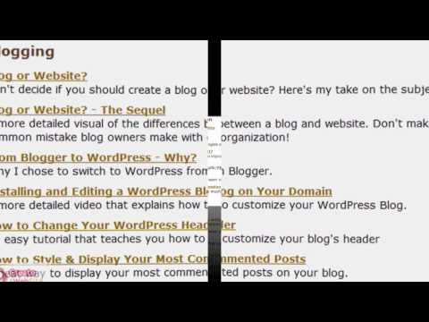 2 Create a Website Video Directory - NEW!