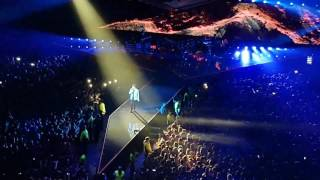 THE WEEKND - I FEEL IT COMING live in Glasgow 2017 (Starboy tour) HD
