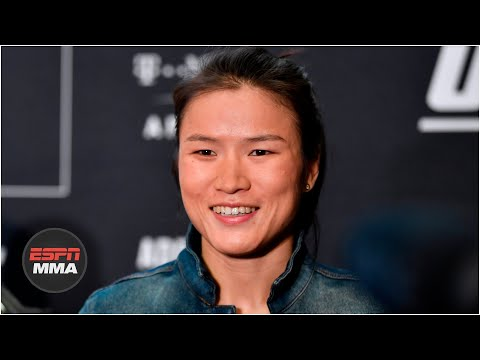 Zhang Weili Chronicles Her Journey As An Mma Fighter  Espn Mma