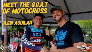 I met Glen Aguilar! A living Motocross legend of the PHILIPPINES!