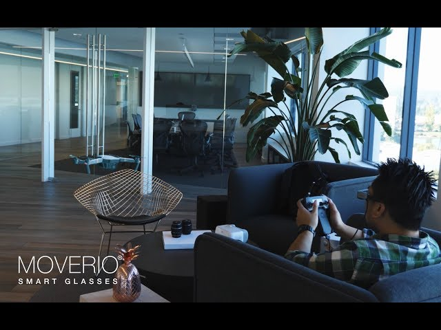 Epson Moverio - Augmented Reality Flight Simulator for DJI Drones