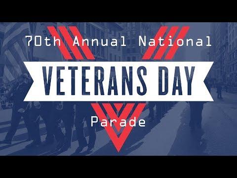 70th National Veterans Day Parade in Birmingham 2017