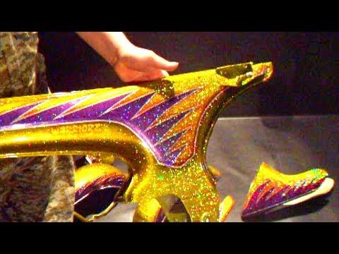 Custom Painting metal flake & Candy Paint Job.レインボーラメ塗装&キャンディー塗装でカスタムペイント