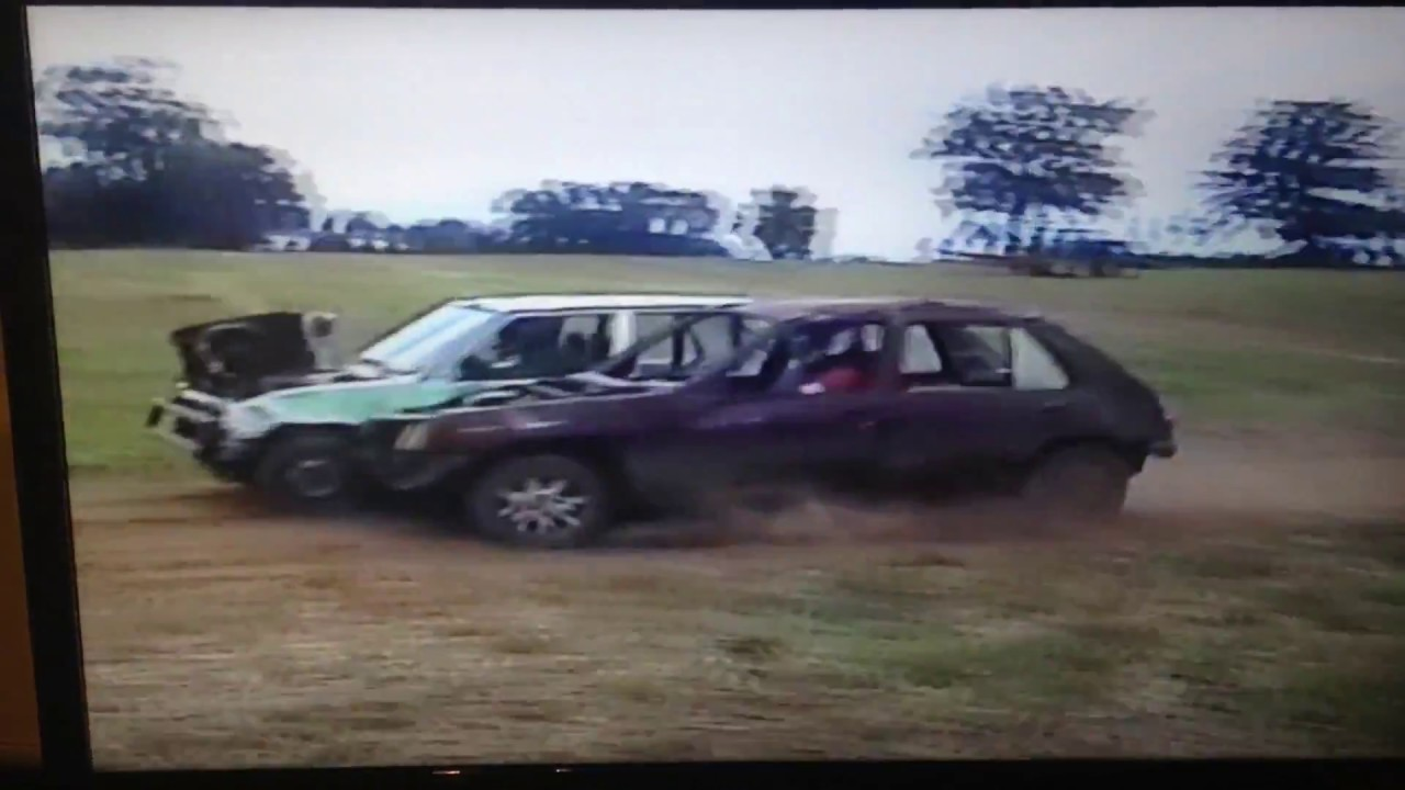 AutoCross racing and crash