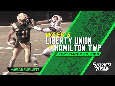 HS Football | Liberty Union at Hamilton Township [9/23/16]