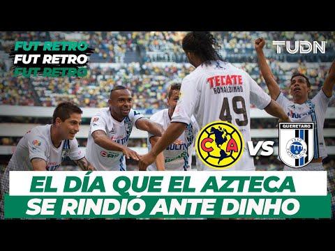 Futbol Retro: La magia de 'Dinho' I América 0-4 Querétaro - CL 2015 I TUDN