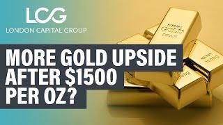 Gold trade setup - live commodity analysis (Aug 8, 2019)
