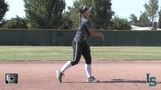2016 McKinsey Thorpe Lefty Slapper, Short Stop, 2nd Base and Outfield Softball Skills Video