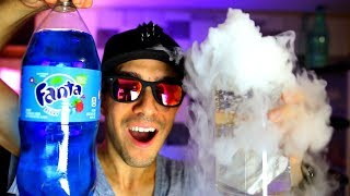 The Coolest Dry Ice and Soda Science Experiment Challenge DIY