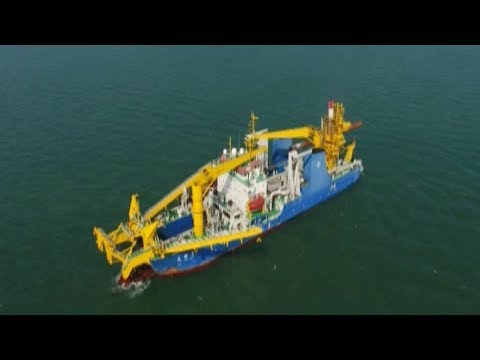 China completes building of Asia's largest cutter suction dredger