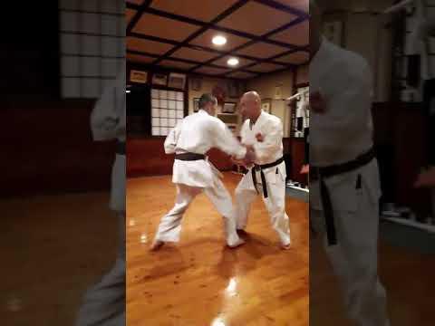 gojuryu karate shihan Hirakawa 【応用組手  沖縄剛柔流空手道 尚禮館 平川師範 】