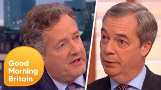 Nigel Farage and Piers Morgan Passionately Defend Donald Trump's State Visit | Good Morning Britain